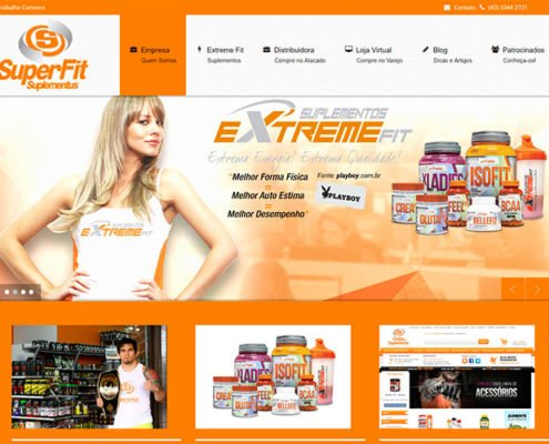 superfit portifolio site felipetto marketing