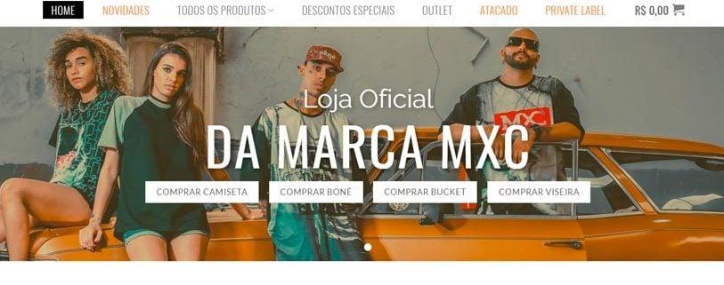 MXC portifolio site felipetto marketing