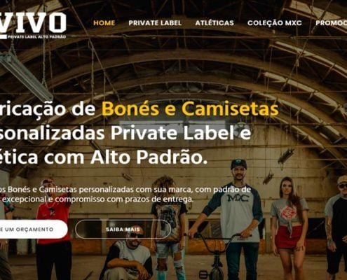 Vivo portifolio site felipetto marketing