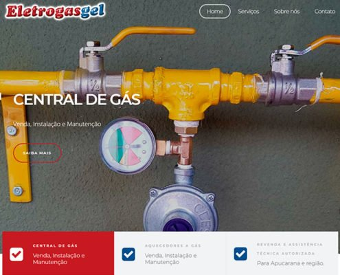eletrogasgel portifolio site felipetto marketing