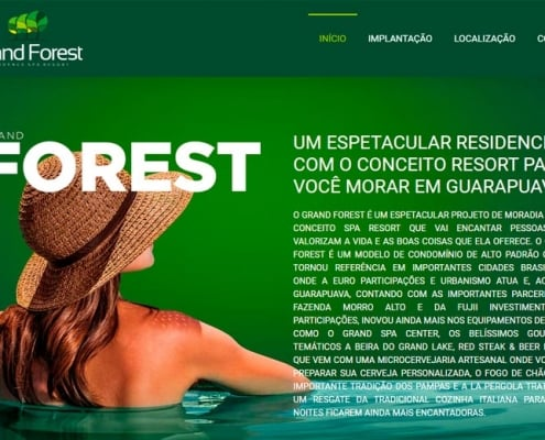 Website Grand Forest