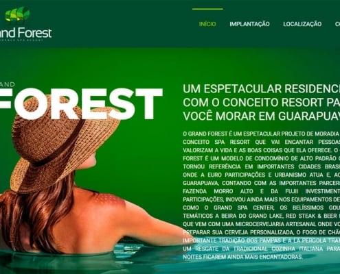 Website Grand Forest