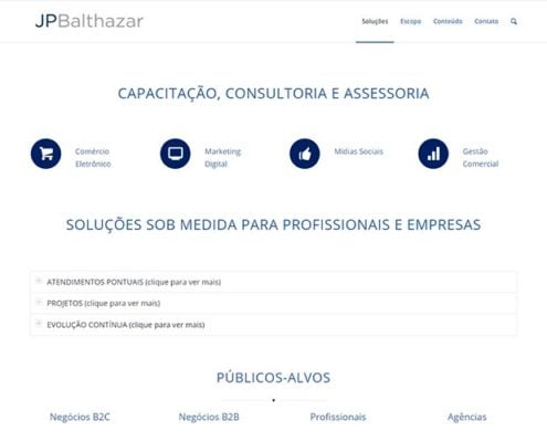 jp balthazar portifolio site felipetto marketing