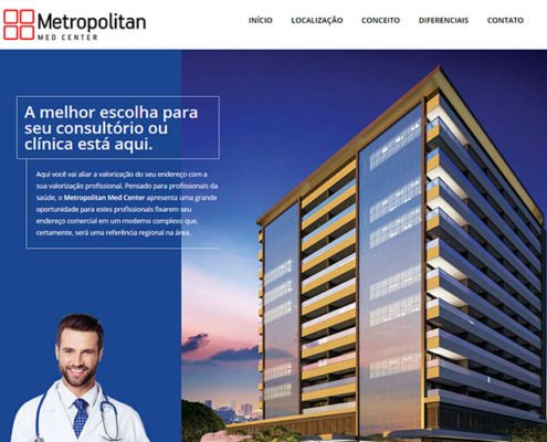 metropolitan medcenter portifolio site felipetto marketing