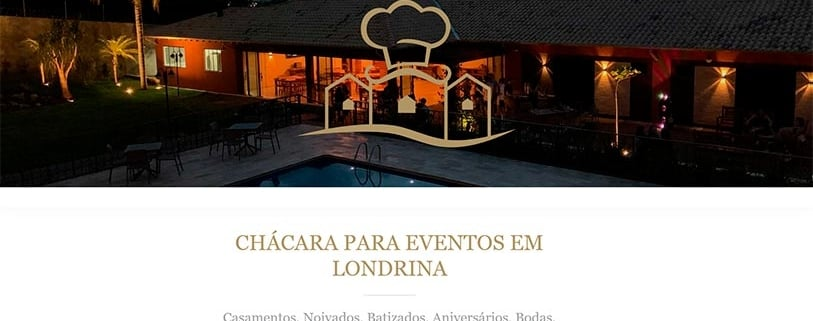 Website Villa do Chef